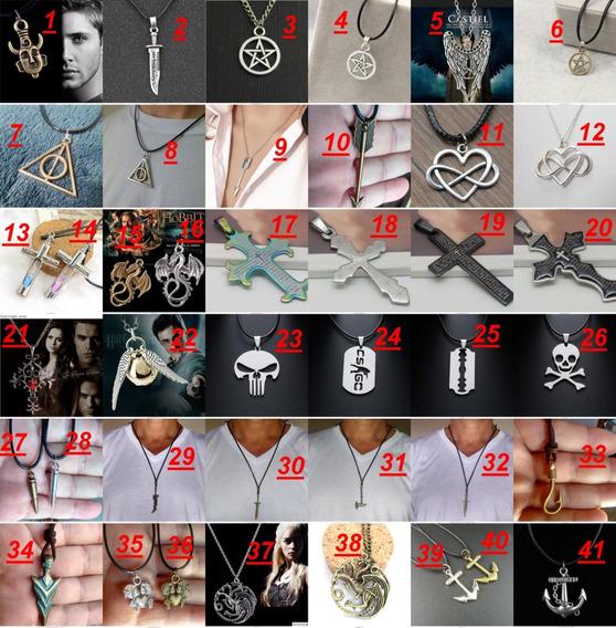 Colares E Gargantilhas Amuletos Series E Filmes Frete Grátis