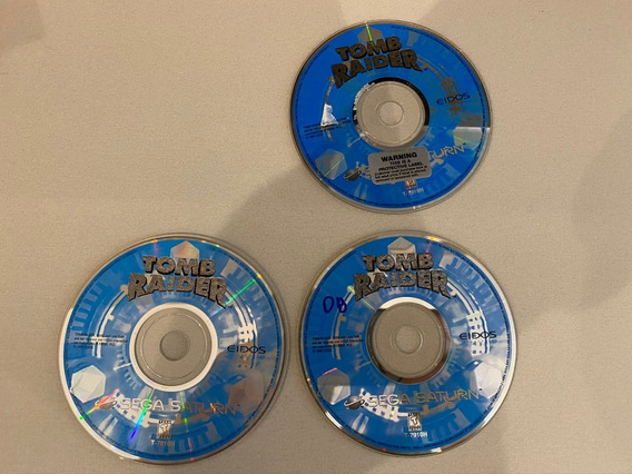 Cd Tomb Raider Sega Saturn Original Saturno