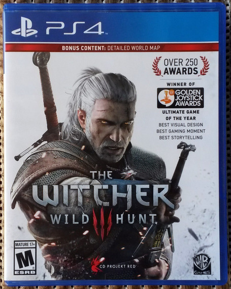 The Witcher 3 Wild Hunt Ps4 100% Português Seminovo Física