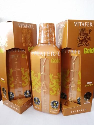 Vitafer Gold 500ml - L a $60