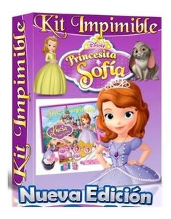 Kit Imprimible Para Tu Fiesta De Princesa Sofía+kit De Regal