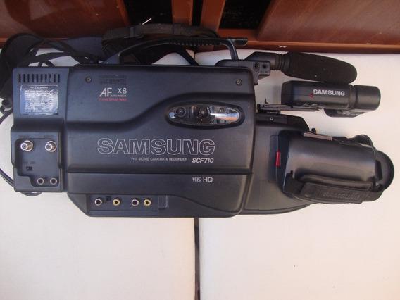 Filmadora Antiga Samsung Scf710 No Estado (leia A Descrição)