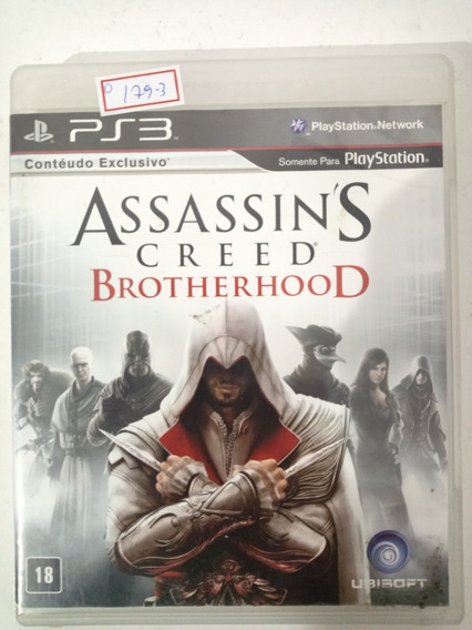 Sony Ps3 Assassins Creed Brotherhood Original Lote179