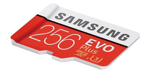 256 Gb Microsd Samsung 100mb/s U3 Class 10 4k Ultra Hd Li@