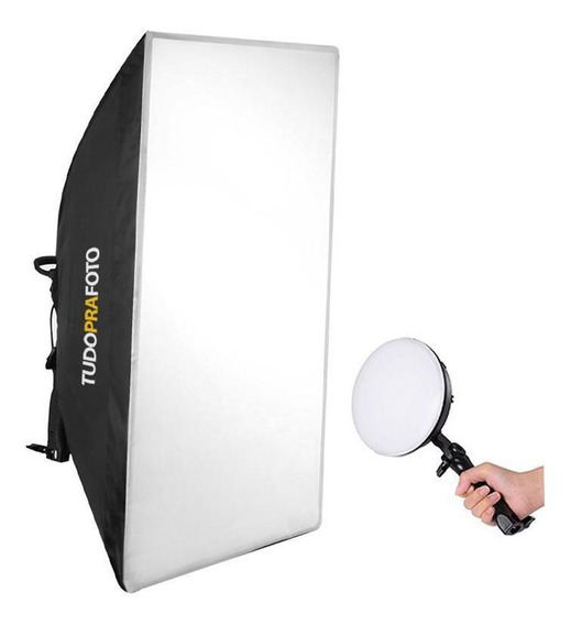 Softbox 50x70 Com Iluminador Led 50/60hz Bivolt - Shled-004