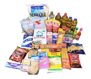 50 Itens Cesta Básica Grande Alimentos Completa Econômica