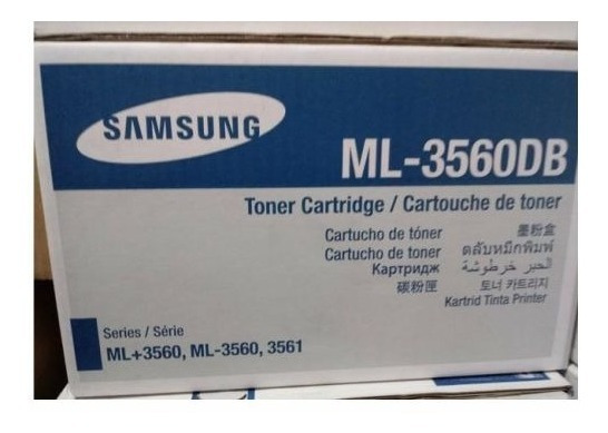 Cartucho Toner Samsung Ml-3560db Cx 1 Um Original
