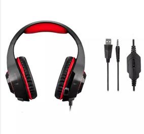 Ph219 Headphone Gamer Warrior Com Led Fone De Ouvido Pc Ps4