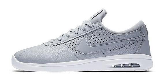 Zapatillas Nike Sb Air Max Bruin Vapor L 006 Cuero Wolf Grey