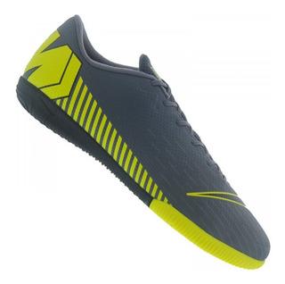 Tênis Futsal Nike Mercurial Vapor 13 Academy Ic Chumbo