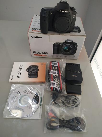 Câmera Canon Eos 60d | Corpo | 110100 Cliques