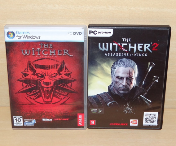 The Witcher 1 + The Witcher 2 - Assassins Of Kings - Pc
