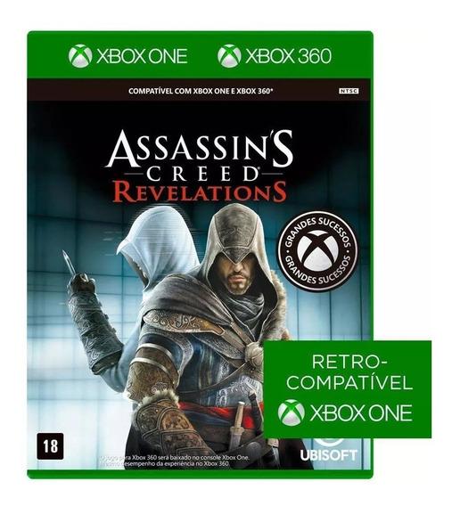 Assassins Creed Revelations Xbox One E Xbox 360 Mídia Física