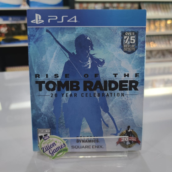 Rise Of Tomb Raider 20 Years Celebration Sony Ps4 Completo