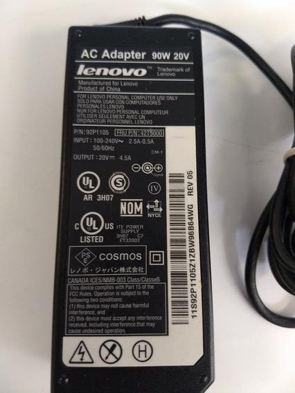 Fonte Carregador Para Notebook Lenovo Thinkpad T410 20v 4.5a