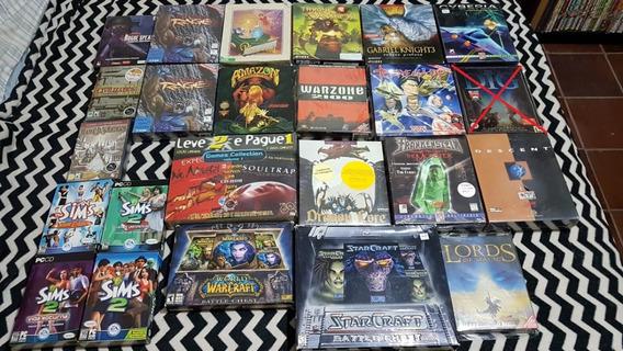 Coleção Lote Pc Games Big Box 23 Jogos