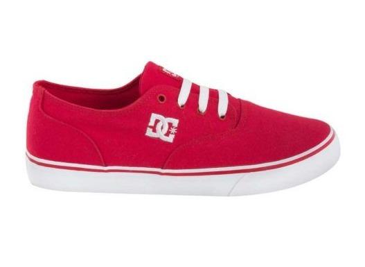 Tenis Casual Caballero Dc Shoes Rojo 186076 Jsu 2-19 H