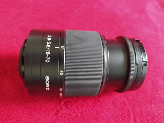 Lente Câmera Sony Alpha 200 (18-70mm + Filtro Uv)