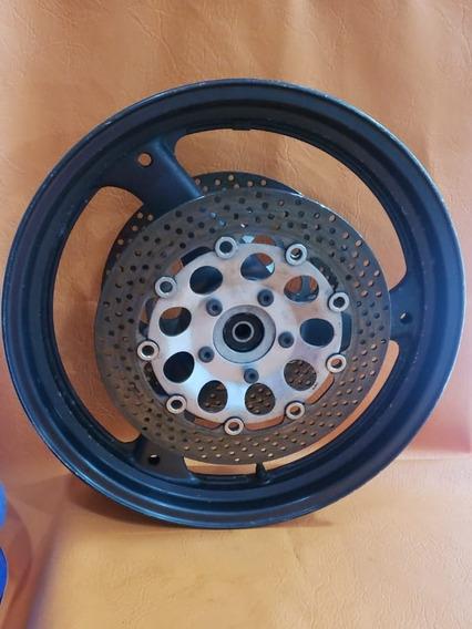 Roda Dianteira Com Dico Suzuki Gsx 750f Ano 2000 /2008