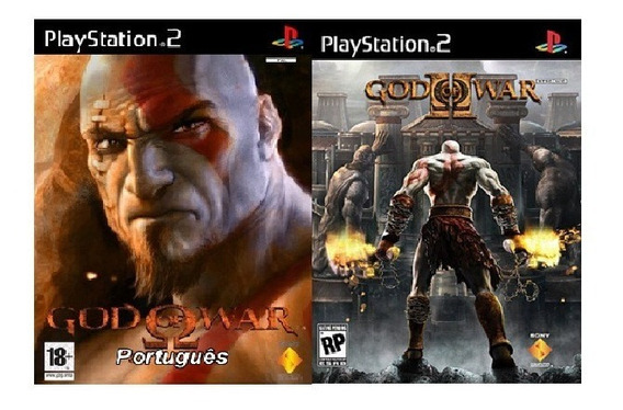 Patch God Of War 1 Ps2 + God Of War 2 Ps2 - Em Português!