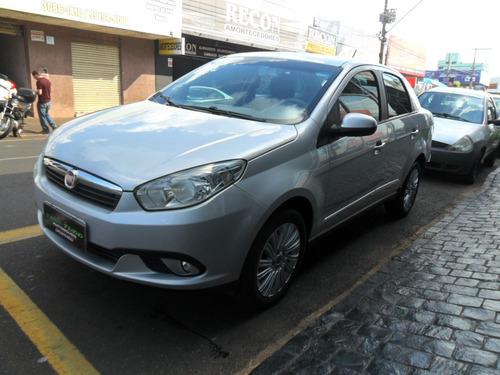 Fiat Grand Siena Essence 1.6 Prata 2014