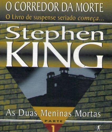 Livro Duas Meninas Mortas, As  (corr King, Stephen