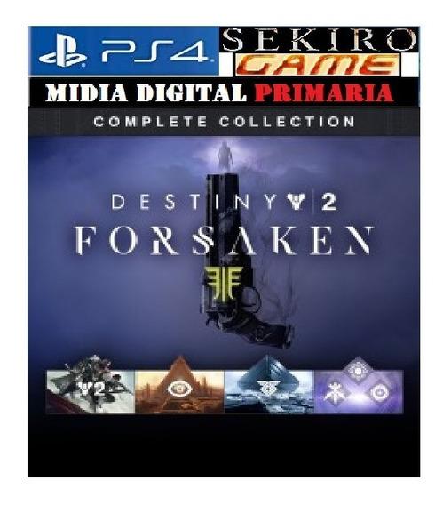 Destiny 2: Renegados Coleção Completa Ps4 Original 1 Pt-br