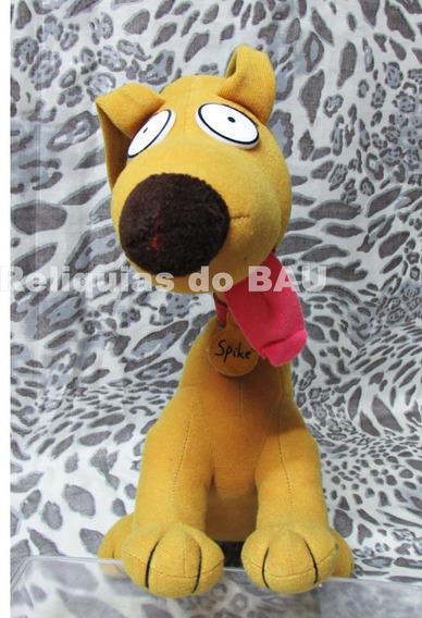 Cachorro Amarelo Spike Pelucia Rugrats Nick 32 Cm Bau13