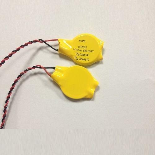 02 Baterias Bios Cmos 3v Cr2032 Placa Mãe Notebook 02 Pinos