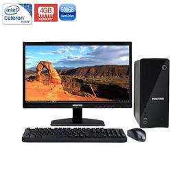 Computador Positivo C4500 Celeron 4gb Hd 500tb