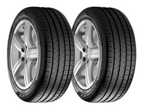 Paquete De 2 Llantas 225/45 R17 Pirelli P7 Cint Eo 91y