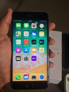iPhone 6s Plus 16gb Silver Carregador Capa Caixa