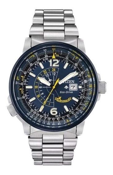 Citizen Eco Drive Promaster Nighthawk Blue Angels Bj7006-56l