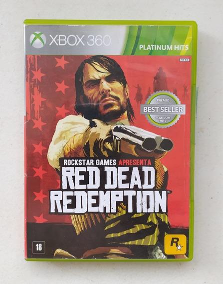 Game Red Dead Redemption - Xbox 360 - Mídia Física Seminovo
