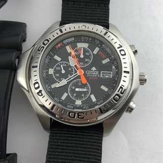Reloj Citizen Promaster A Pila Vintage Profundimetro