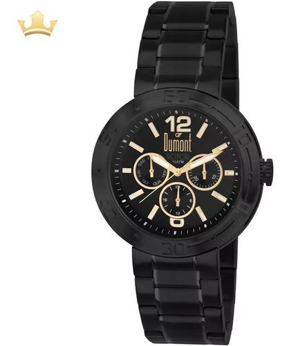 Relógio Dumont Masculino Du6p29abj/s4c C/ Garantia E Nf