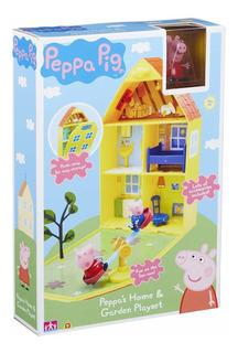 Peppa Pig - Casa De Juego Y Jardín - Original - Envío Gratis