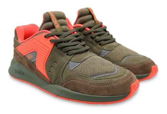 Tênis Hocks Pulsus Sneaker Verde Militar Original