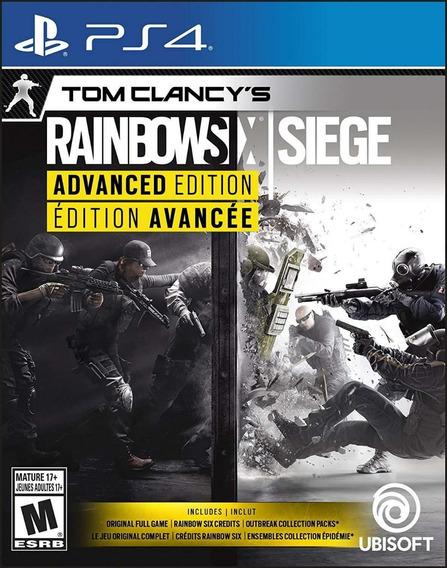 Rainbow Six Siege Advanced Ed Bil Ps4 Nuevo