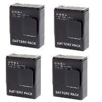 Baterias 4 Unidades Kit Gopro Hd Hero3 / Gopro Hero 3+ Ahdbt