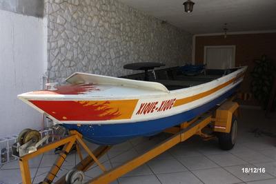 Conjunto-barco, Carreta E Motores (pesca, Passeio, Diversão)
