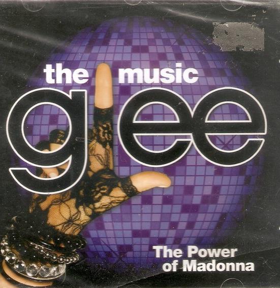 Cd The Music Glee - The Power Of Madonna - Novo Lacrado***