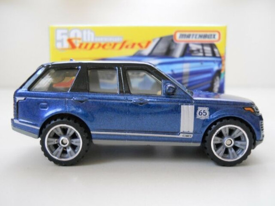 Miniatura Range Rover Lwb Superfast Matchbox 1:64 Lacrada !