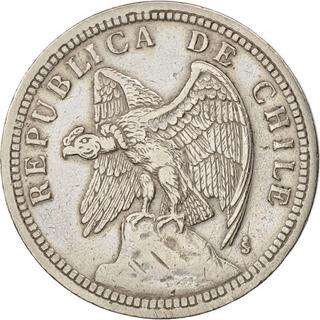 Monedas Chilenas 1 Peso Año 1933 Martillo Y Hoz. Pack 50 Ú