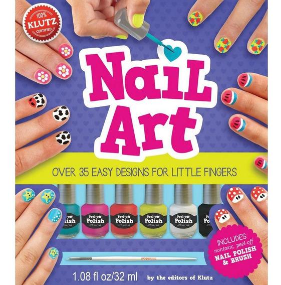 Nail Art - Over 35 Easy Designs For Little Fingers