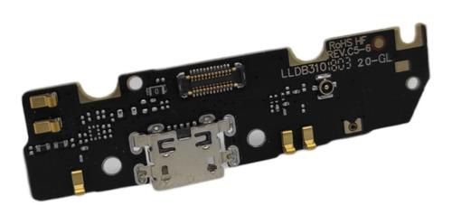 Imagen 1 de 6 de Placa Pin De Carga Compat. C/ Moto G6 Play Cld. Original