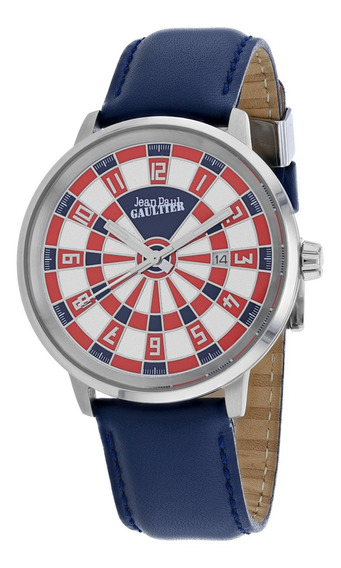 Reloj Pulsera Jean Paul Gaultier Cible 8504802 Para Hombre