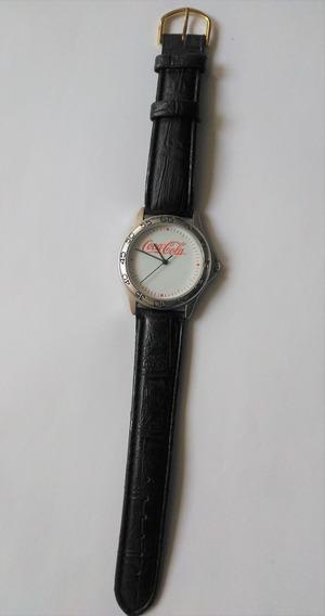 Reloj Coca Cola Original Correa De Piel