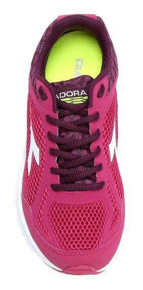 Tênis Diadora Fly Pink E Roxo
