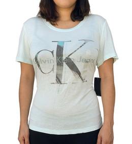 Playera Calvin Klein Logo Autentica Importada **envio Gratis